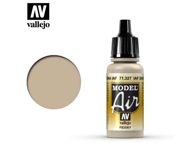 Vallejo 17ml MA327 Model Air - 327 IAF Sand