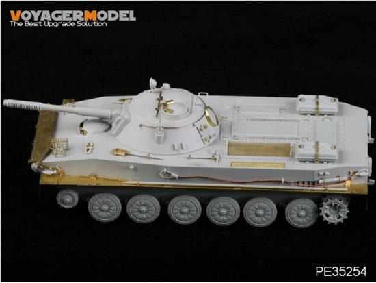 Voyager 1/35 PE35254 Photoetch Set For Russian PT-76 Amphibious Tank Mod.1951 (For Trumpeter 00379)