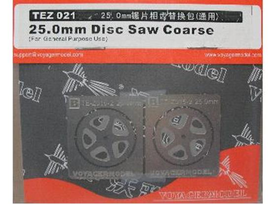 Voyager na TEZ021 25.0mm Disc Saw Coarse