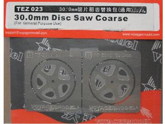 Voyager na TEZ023 30.0mm Disc Saw Coarse