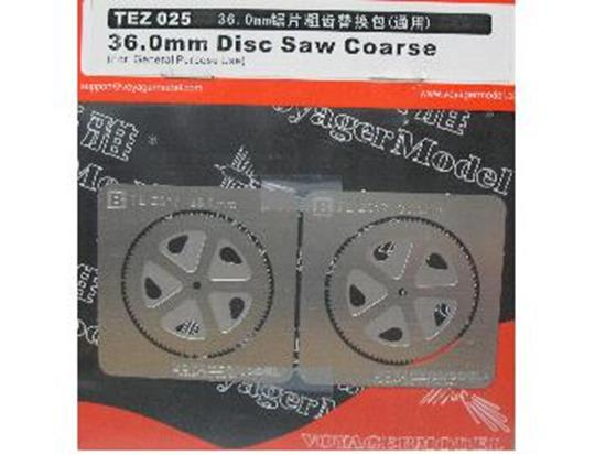 Voyager na TEZ025 36.0mm Disc Saw Coarse
