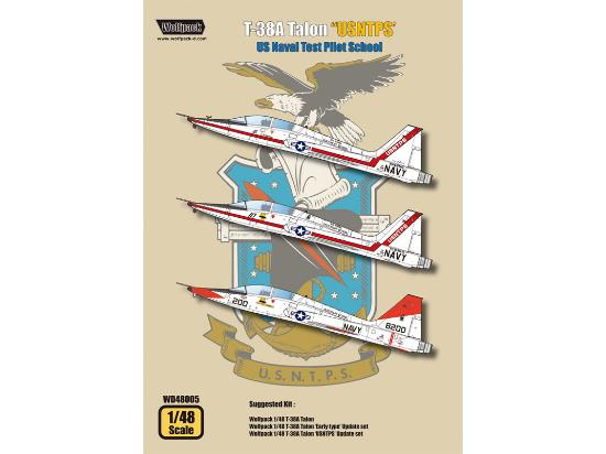 Wolfpack Design 1/48 WD48005 T-38A Talon Decals - US Naval Test Pilot School