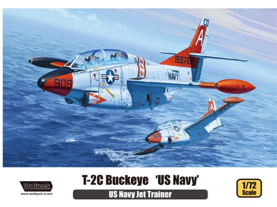 Wolfpack Design 1/72 WP10005 T-2C Buckeye US Navy Jet Trainer
