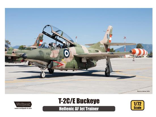 Wolfpack Design 1/72 WP10009 T-2C/E Buckeye - Hellenic AF Jet Trainer