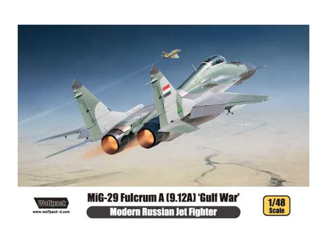 Wolfpack Design 1/48 WP14804 MiG-29 Fulcrum A (9.12A) 'Gulf War'