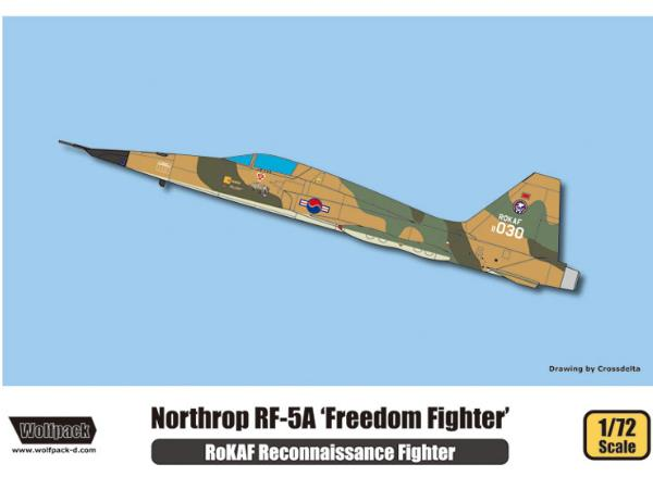 Wolfpack Design 1/72 WP17202 RF-5A Freedom Fighter 'RoKAF' Premium Edition
