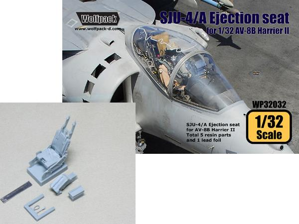 Wolfpack Design 1/32 WP32032 SJU-4/A NACES Ejection seat for AV-8B