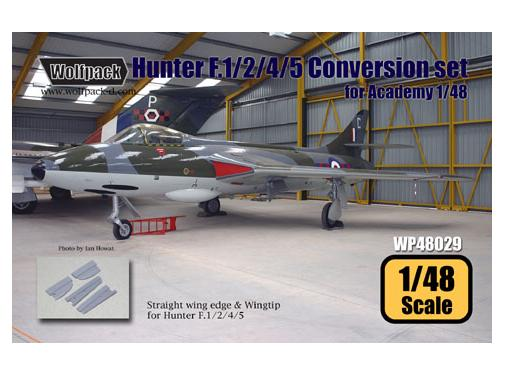 Wolfpack Design 1/48 WDWP48029 Hawker Hunter F.1/2/4/5 Conversion set (for Academy 1/48)