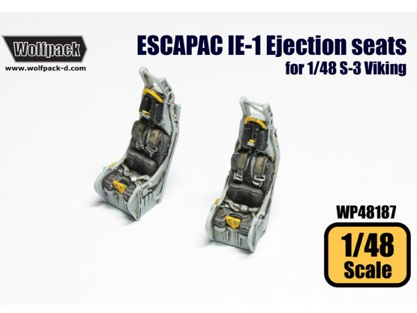 Wolfpack Design 1/48 WP48187 ESCAPAC IE-1 Ejection seats for S-3 Viking
