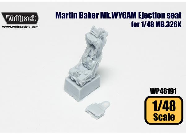 Wolfpack Design 1/48 WP48191 Martin Baker Mk.WY6AM Ejection seat for MB.326K