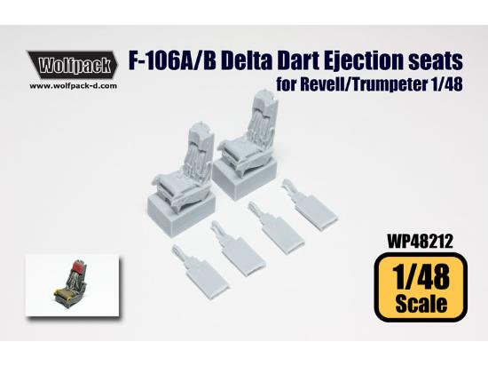 Wolfpack Design 1/48 WP48212 F-106A/B Delta Dart Ejection seat set