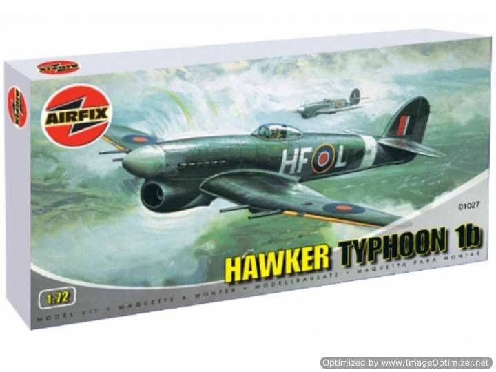 Airfix - Hawker Typhoon 1B 1/72 01027