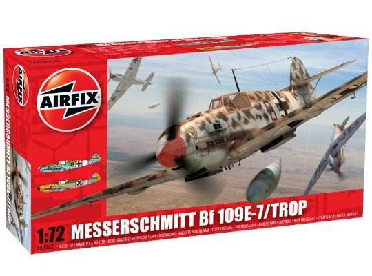 Airfix Messerschmitt BF109E-7 Tropical 1/72 02062