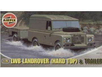 Airfix - LWB Landrover Hard Top and Trailer 1/76 02324