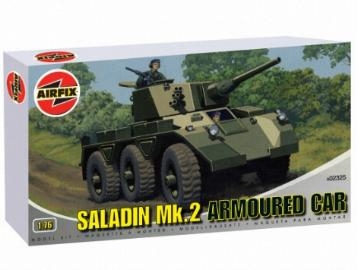 Airfix - Saladin Mk.2 Armoured Car 1/76 02325