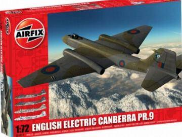 Airfix - English Electric Canberra PR9 1/72 05039