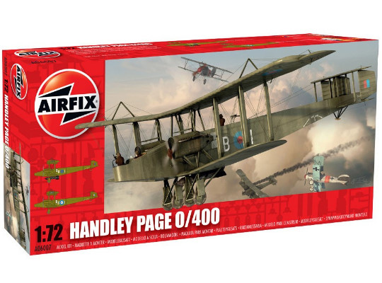 Airfix - Handley Page HP 0/400 1/72 06007