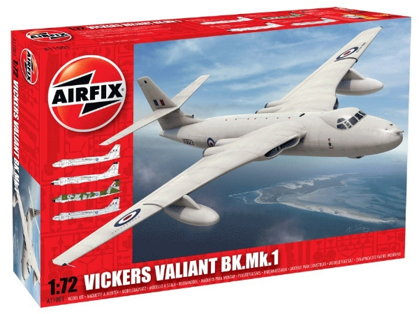 Airfix Vickers Valiant B.Mk1 Scale 1/72 11001a