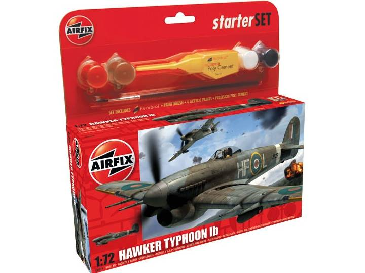 Airfix - Hawker Typhoon Gift Set 1/72 50079