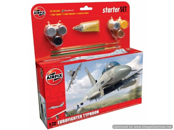 Airfix - Eurofighter Typhoon Gift Set 1/72 50098