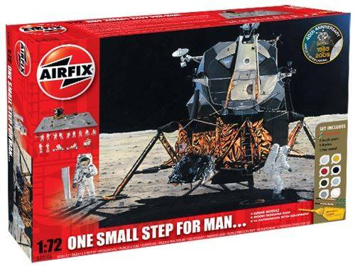 Airfix - Lunar Module - One Small Step For Man Gift Set 1/72 50106