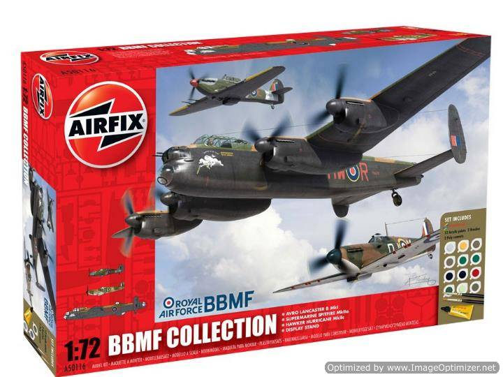 Airfix - Battle of Britain Memorial Flight - BBMF Collection Gift Set 1/72 50116