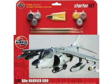 Airfix - BAe Harrier GR9 Large Gift Set 1/72 55300