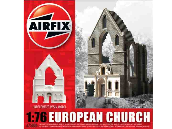 Airfix - European Church Ruin 1/76 75006