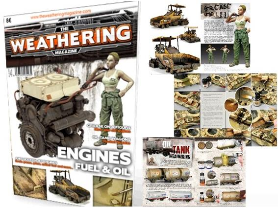 AK Interactive The Weathering Magazine Number 4: Engines, Fuel and Oil na BOOK423