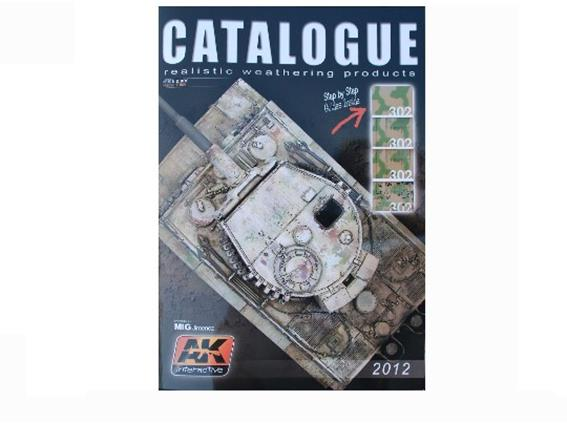 AK Interactive Catalogue 2012 na CAT2012