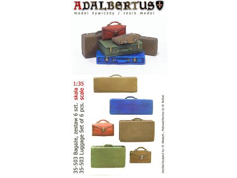 Adalbertus - Luggage Set 6pcs 1/35 35503