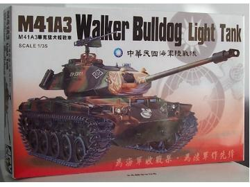 AFV Club - M41A3 Walker Bulldog ROC Light Tank 1/35 35S12