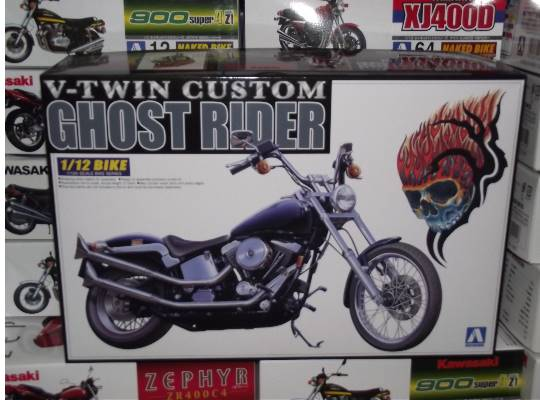 Aoshima - Ghost Rider - V Twin Custom 1/12 003411