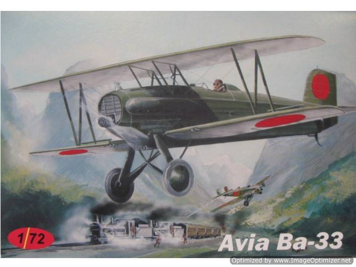 AZ Model Avia Ba-33 Scale 1/72 CZ05
