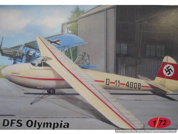 AZ Model DFS Olympia Scale 1/72 CZ21
