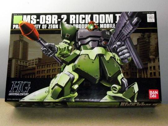 Bandai - HGUC 090 Rick Dom II Colony Collar 1/144 155740