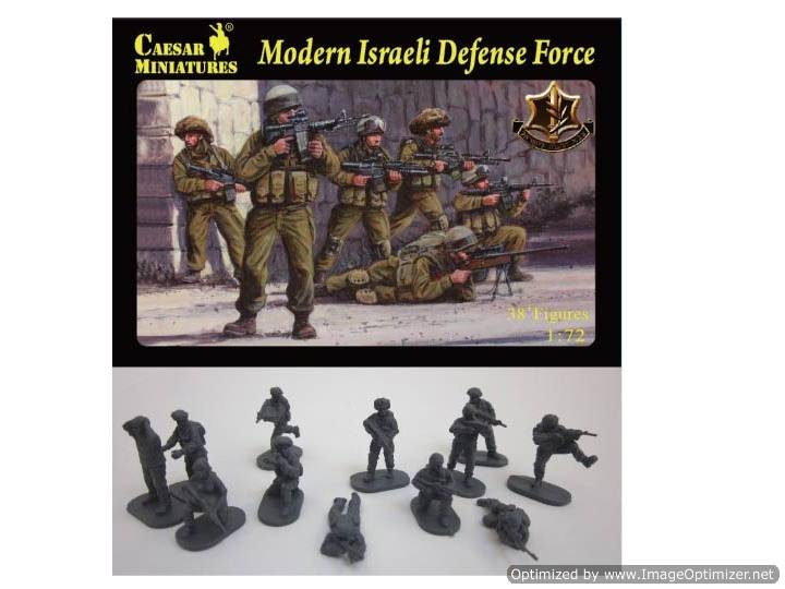 Caesar Miniatures - Modern Israeli Defense Force 1/72 057