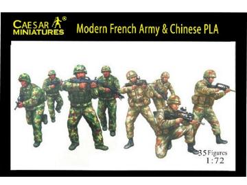 Caesar Miniatures - Modern French Army with Chinese PLA 1/72 059