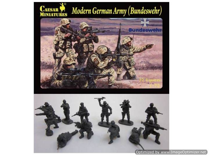 Caesar Miniatures - Modern German Army (Bundeswehr) 1/72 062