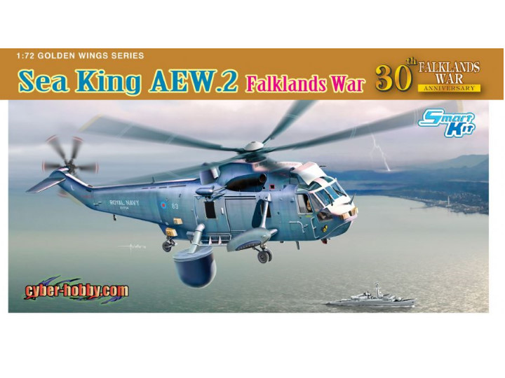 Dragon - Sea King AEW.2 Falklands War 1/72 5104