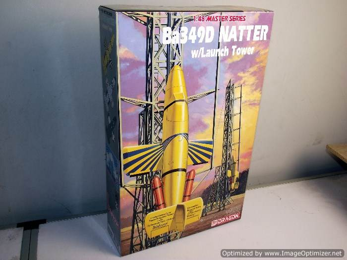 Dragon - Ba 349D Natter with launch tower 1/48 5547