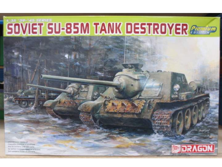 Dragon - Su-85M Tank Destroyer 1/35 6415