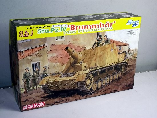 Dragon - Sd.Kfz.166 Stu.Pz.IV Brummbar Mid Production 1/35 6460