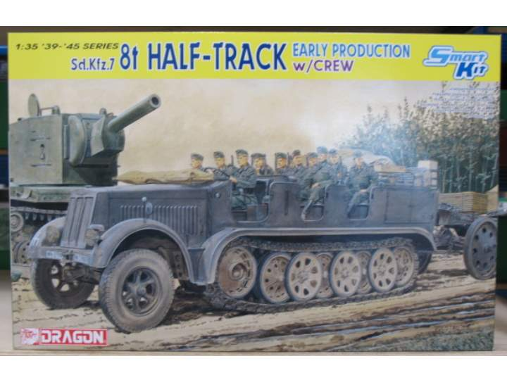 Dragon - SdKfz 7 8(T) Halftrack 1/35 6545