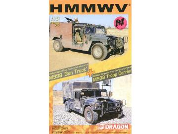 Dragon HMMWV Troop Carrier with M998 Gun Carrier #7309
