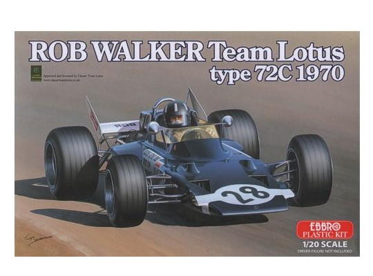 Ebbro - Rob Walker Team Lotus type 72C 1970 1/20 002