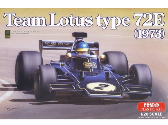 Ebbro - Team Lotus Type 72E 1973 Scale 1/20 003