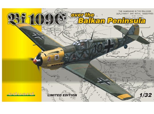 Eduard Bf 109E over the Balkan Penninsula 1/32 1156