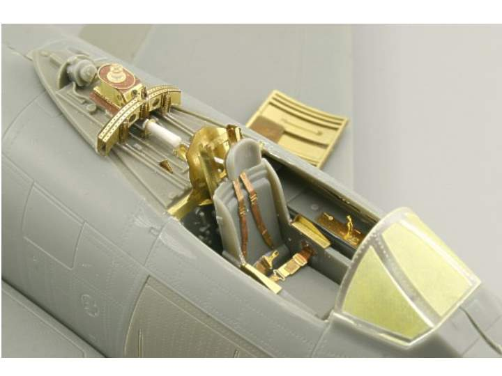 Eduard F-86F-30 interior (self adhesive)  - For The Kinetic Kit Scale 1/32 32643