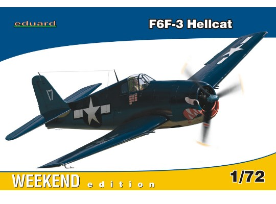 Eduard - F6F-3 Hellcat - Weekend Edition 1/72 7414